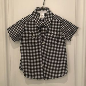 Carter's Plaid Short Sleeve Shirt